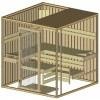 Afbeelding 11 van Azalp massieve sauna Alku 194x173 cm, 40 mm