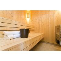 Foto von Azalp Mehrpreis Abachi Saunabänke anstatt Erle
