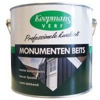 Foto van Koopmans Monumenten beits, Zwart, 2,5L