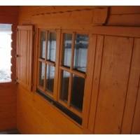 Foto von Azalp Fensterläden 80x94 cm, Standard