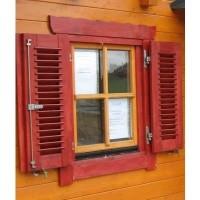 Foto von Azalp Fensterläden 80x94 cm, Lamellen