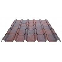 Foto van Onduline Complete set Onduvilla voor dit dak (Rood)