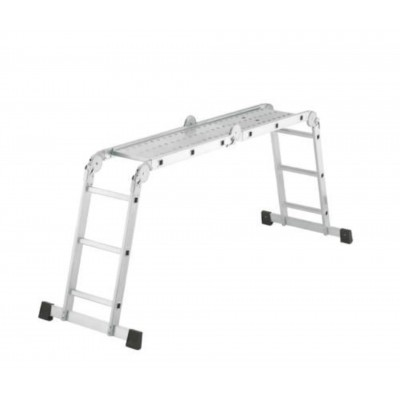 Hoofdafbeelding van Hailo Aluminium universeel ladder (7412-031)