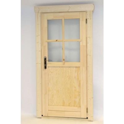 Hauptbild von Azalp Einzeltür mit Halb Glass (100x195 cm)