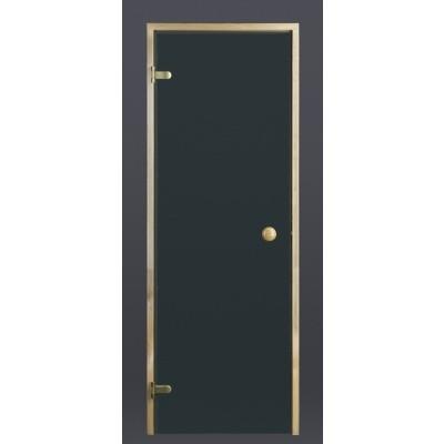 Hoofdafbeelding van Ilogreen Saunadeur Trend (Elzen)189x69 cm, groenglas