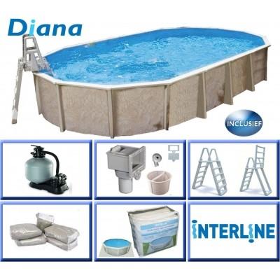 Hoofdafbeelding van Interline Diana 730 x 360 x 132 cm inclusief pakket