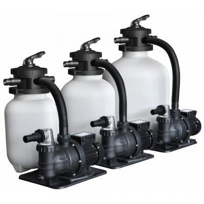 Foto von Interline Eco Sandfilter-Set 29,5 cm/0,35 HP Pump 7 m3/h – set 4,5 m3