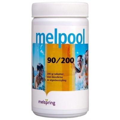 Hoofdafbeelding van Melpool 90/200 grote Chloortabletten - 1 kg