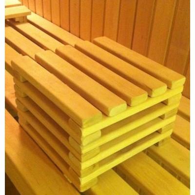 Hoofdafbeelding van Azalp Sauna Voethocker elzen 20 cm
