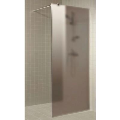 Hauptbild von Hot Orange Duschwand 70x200 cm, matt grau 8 mm