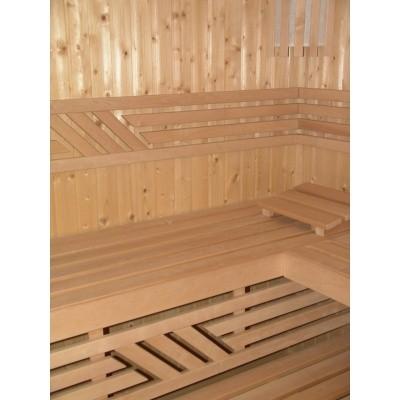 Hoofdafbeelding van Azalp Saunabank recht, Elzen breedte 60 cm