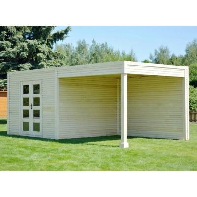 Foto von SmartShed Gartenhaus Ligne Ultra 600x250 cm