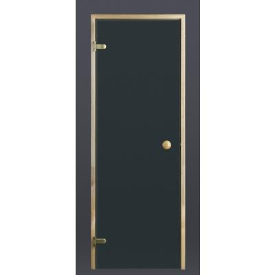 Hoofdafbeelding van Ilogreen Saunadeur Trend (Vuren) 199x89 cm, groenglas