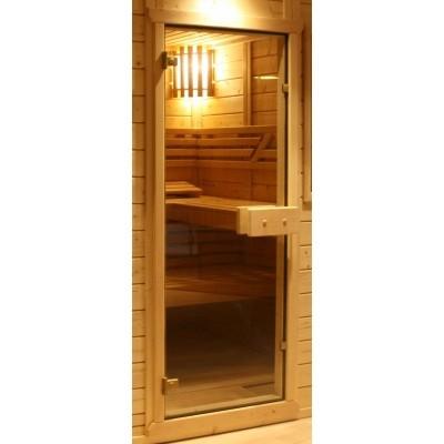 Hauptbild von Azalp Saunatür Glas 67x171 cm