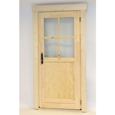 Hauptbild von Azalp Einzeltür mit Halb Glass (90x195 cm)