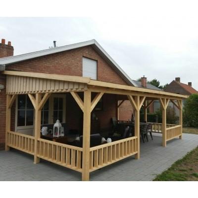 Hauptbild von Azalp Terrassenüberdachung Holz 500x400 cm