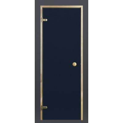 Hoofdafbeelding van Ilogreen Saunadeur Trend (Vuren) 209x69 cm, blauwglas