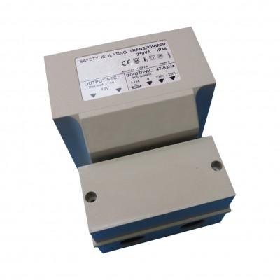 Foto van Azalp veiligheidstransformator maximaal 210 watt - IP 44