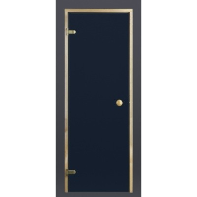 Hoofdafbeelding van Ilogreen Saunadeur Trend (Vuren) 209x89 cm, blauwglas