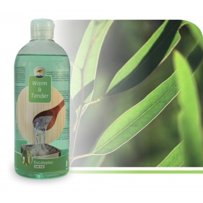 Foto van Warm and Tender Concentraat Eucalyptus 500 ml