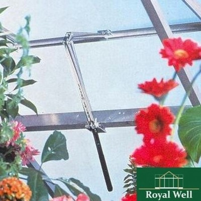 Foto van Royal Well Raamopener Spiro RVS