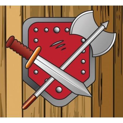 Foto von AXI Flagge mit hebezeug System - Battle Flag