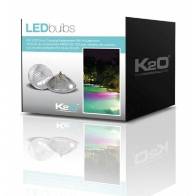 Foto van K2O LED vervangingslamp kleur 35W RGB - PAR 56