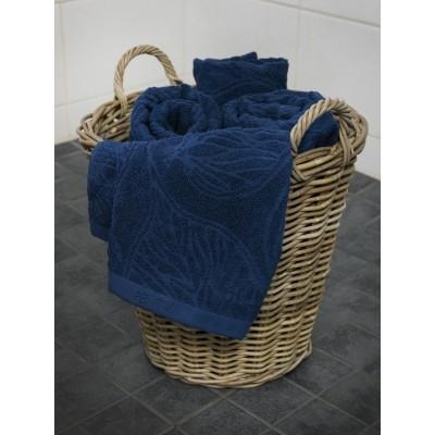 Foto van Pentik Handdoek 100x170 cm blauw