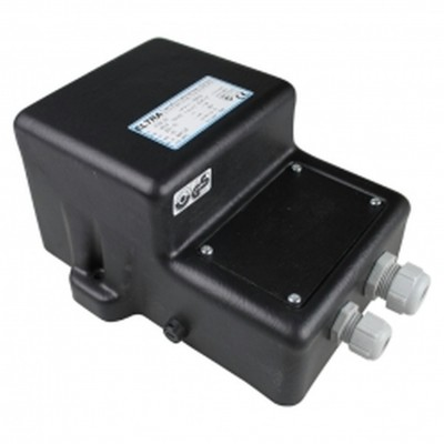 Hoofdafbeelding van Azalp zware kwaliteit veiligheidstransformator 2x 300 watt - IP65