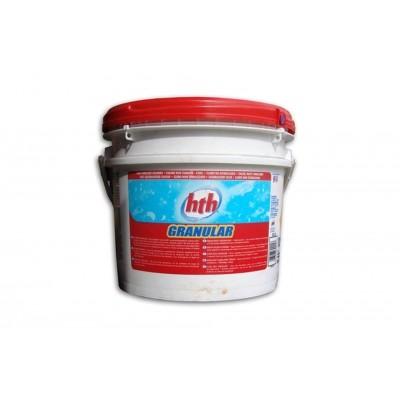 Hoofdafbeelding van HTH Chloorshock 5 kg (Calcium Hypochlorite Granulaat)