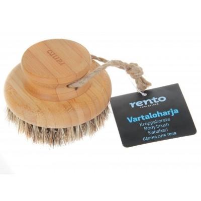 Foto van Rento Sauna-Body Brush, Bamboe