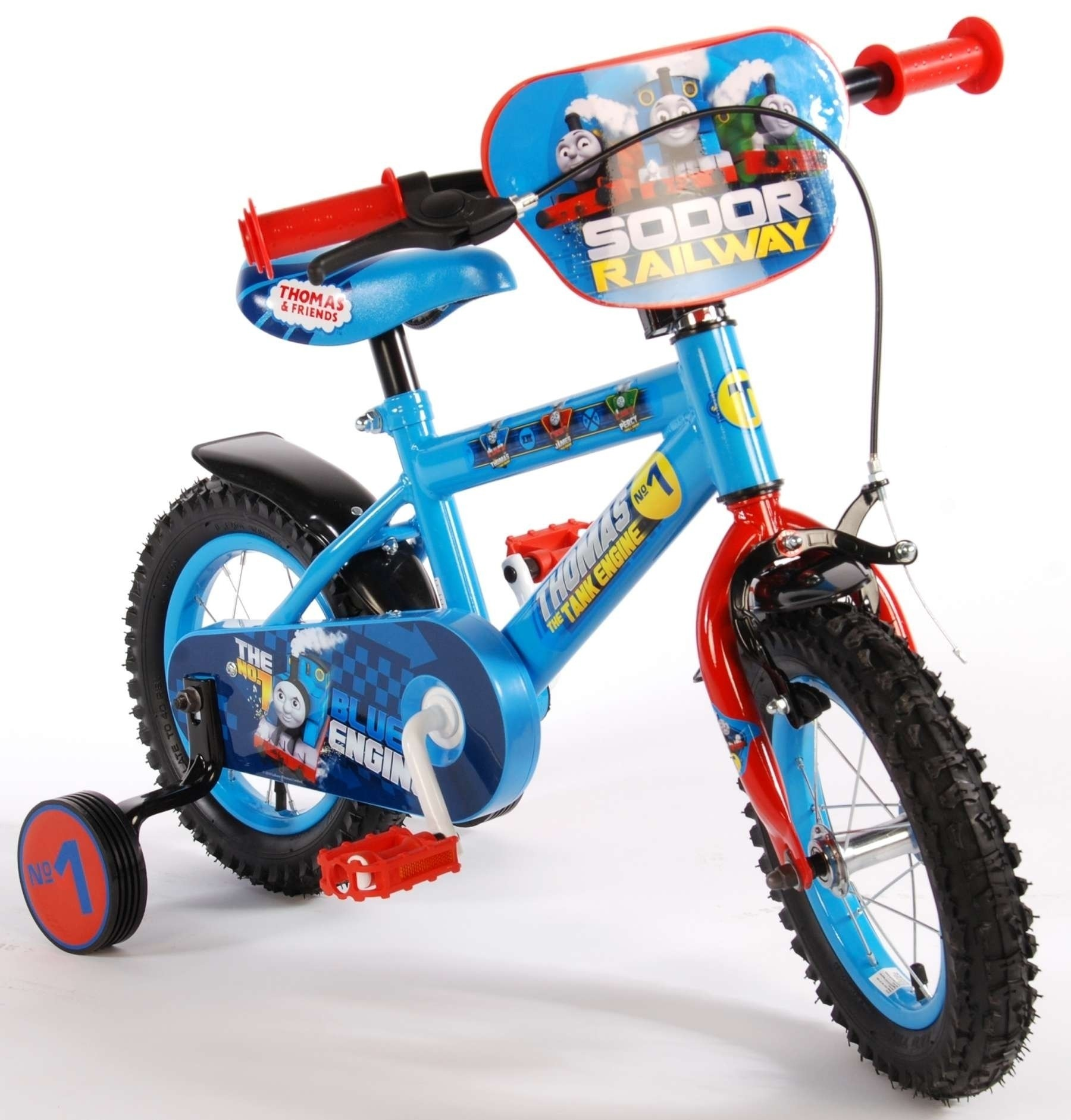 Thombike blauw 12 inch jongensfiets 51286-CH