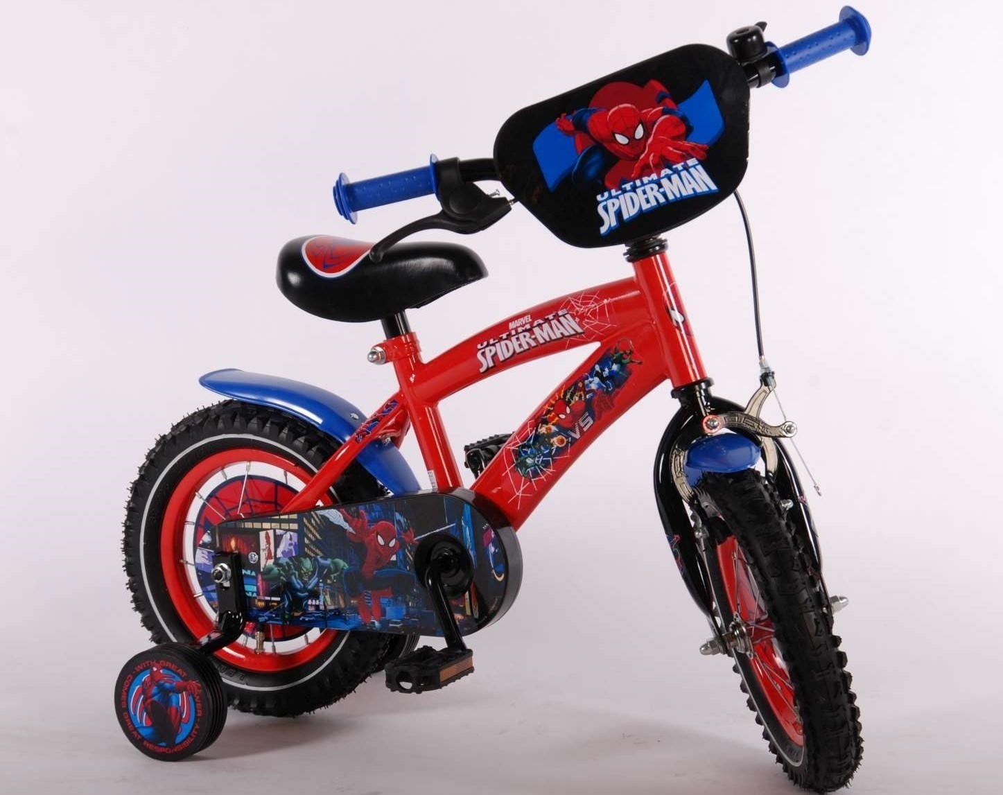 Ultimate Spider-Man 12 inch jongensfiets 41254