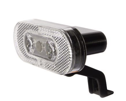 IKZI-Light Reflector koplamp 2xLED ZLIM