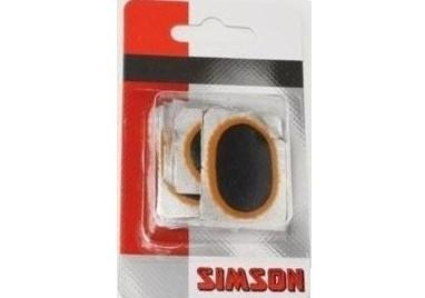 Simson Binnenbandpleisters Ovaal 020523