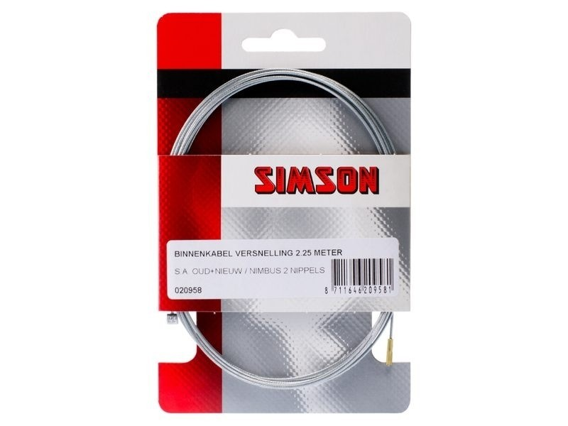Simson Versnelling Binnenkabel 2.25 mtr. 020958