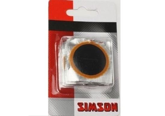 Simson Binnenbandpleisters 33mm 020522