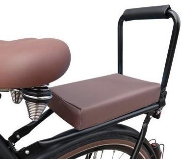 Flo en Zo fietskussen bruin