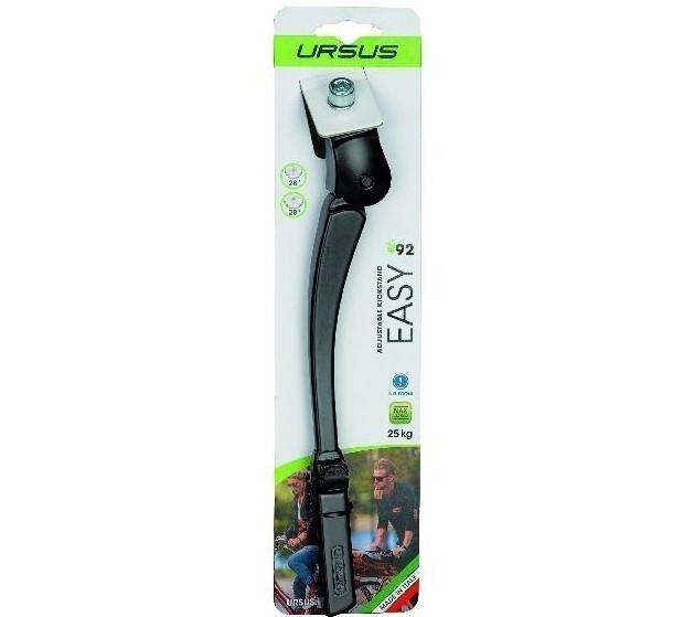 Standaard Ursus verstelbaar Easy alu 26 28 inch zwart