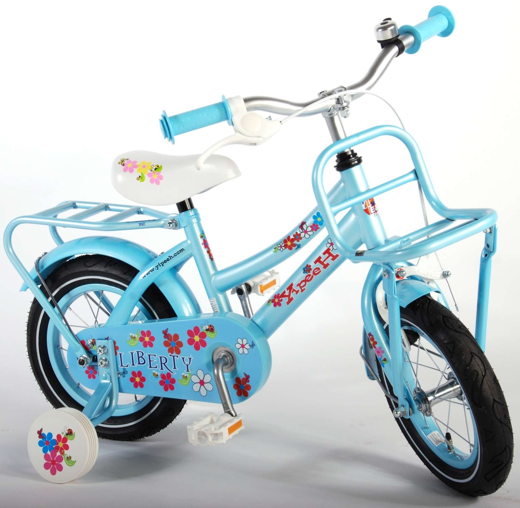 Yipeeh Liberty Urban Blauw 12 inch meisjesfiets 61208