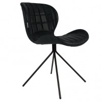 Foto van Chair OMG black LL (set van 2)