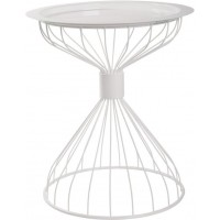 Foto van Side table Kelly Tray White