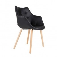 Foto van Armchair Twelve LL black (set van 2)