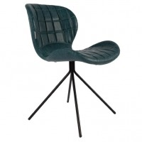 Foto van Chair OMG petrol LL (set van 2)