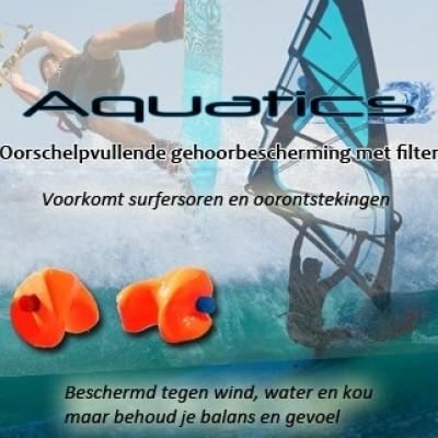 Foto van Earsafety Aquatics watersportoordoppen op maat