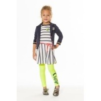 Foto van Funky XS SG Skater Dress Stripe navy