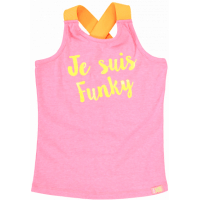 Foto van Funky XS GS Singlet fluo pink