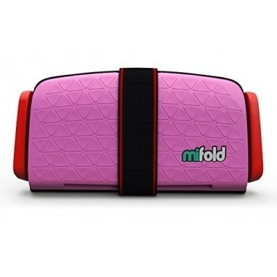 Foto van mifold Grab-and-Go Booster Seat (Perfect Pink)