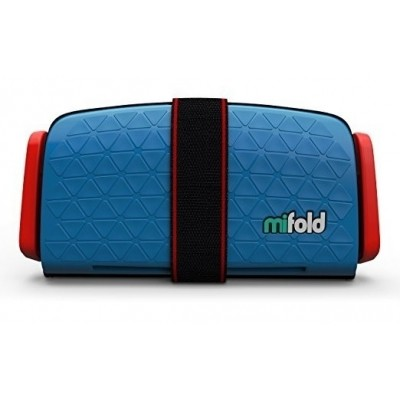 Foto van mifold Grab-and-Go Booster Seat (Denim Blue)