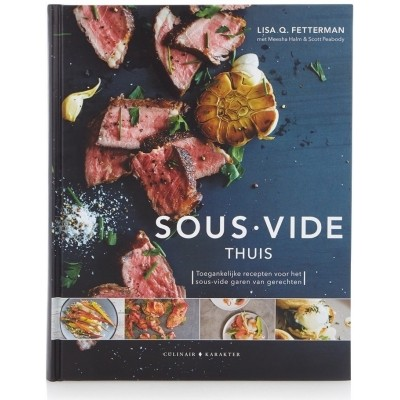 Foto van Sous Vide Thuis | 9789045208299 | Hardcover